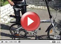 Cykel, ihopfällbar