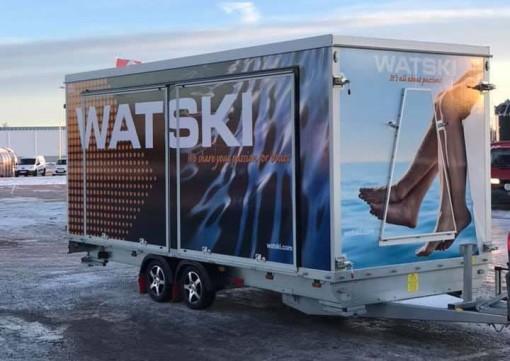Watski på båtmessen Sjøen for Alle 2019