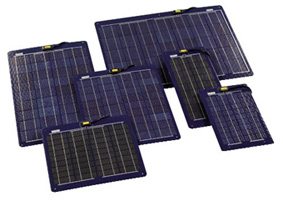 Ladda batteri solpanel