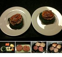 Gegrillte Hähnchenburger
