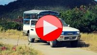 Følg med på bustur i Caribien