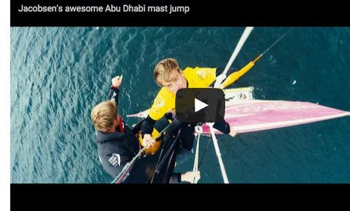 Kitesurfen von Abi Dhabi Ocean Racing