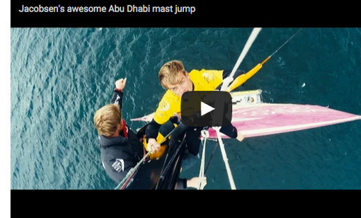 Kitesurfting från Abi Dhabi Ocean Racing