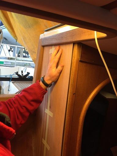 Treppenstufen Holz Aufarbeiten ~ Neues Elektropaneel und Aufarbeiten des Holzfurniers  Watski