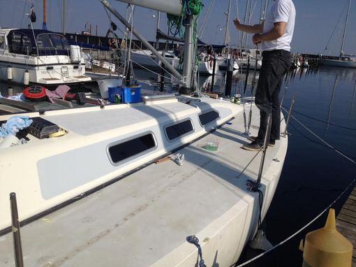Nye vinduer i X 402 Yacht