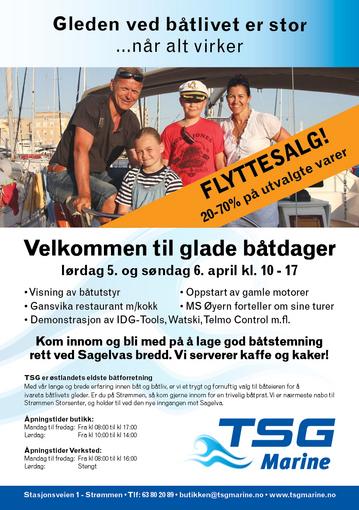 TSG BÅT OG MOTORSERVICE AS