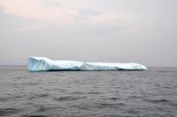 Vårt första isberg