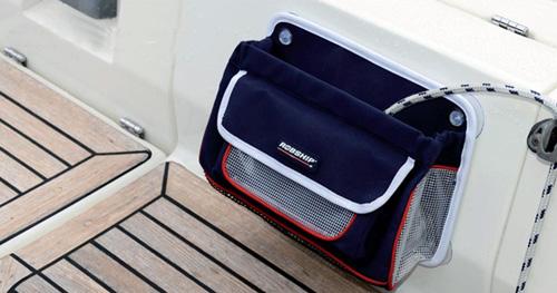 Praktische Marine-Komforttaschen