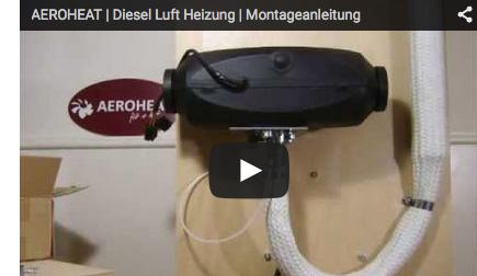 So montieren Sie eine Aeroheat Diesel-Luftheizung