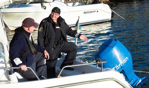 Stöldskydda din båt