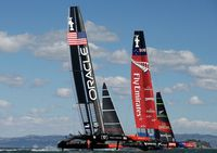 Se den fantastiske historie om  shore teamet på ORACLE TEAM USA