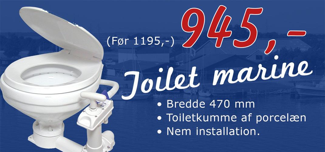 toilet marine bred kumme