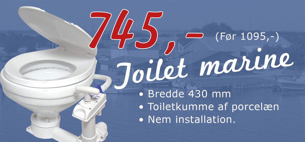 toilet marine smal kumme