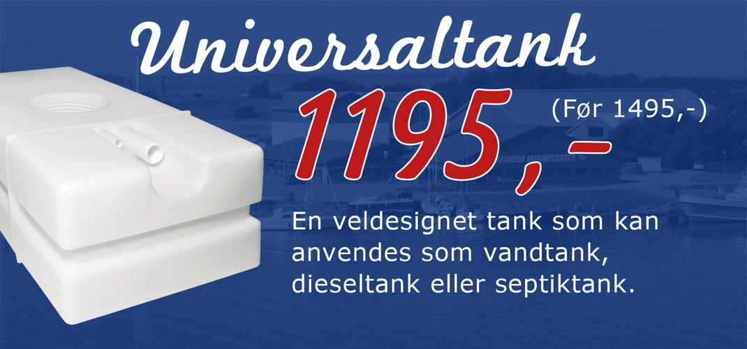 Universal tank 65 liter